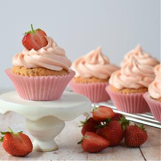 Original composition of Strawberry Cupcakes