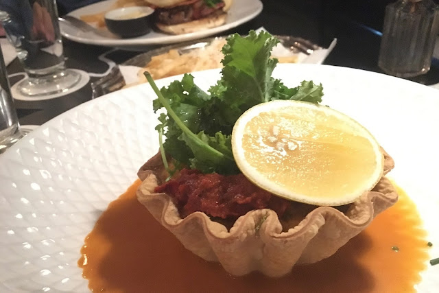 ps cafe palai renaissance crab tart