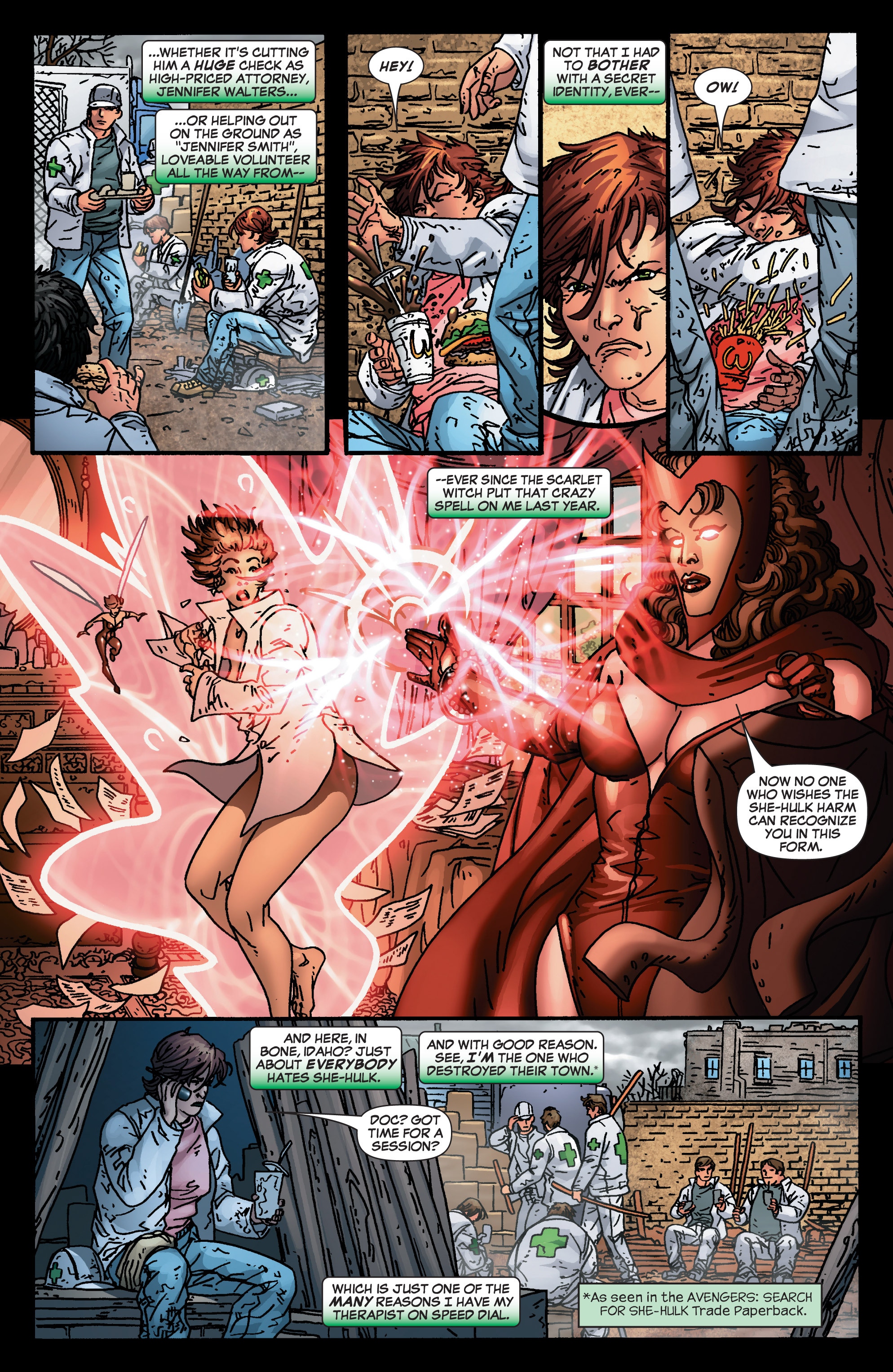 Read online She-Hulk (2005) comic -  Issue #4 - 5