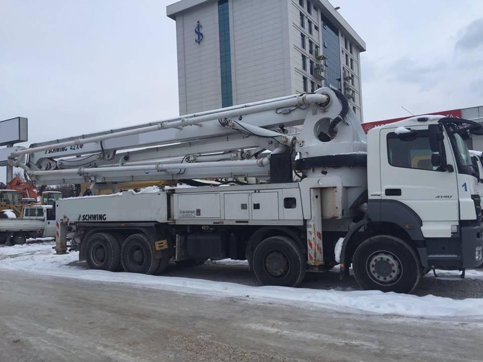 Concrete Truck Mixers , Concrete Pumps , Loaders , Tippers