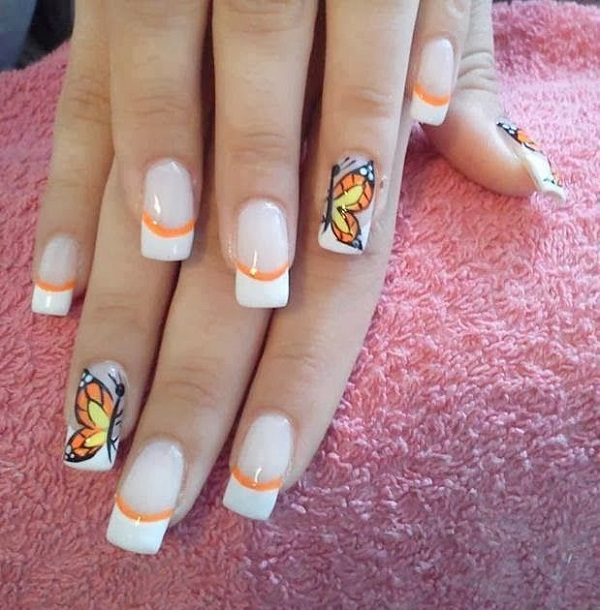 Butterfly Nail Designs Step By Step: Five Amazing Butterfly Nail Arts