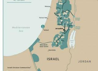 شاهد تغريدة ترامب لخريطة فلسطين المستقبلية