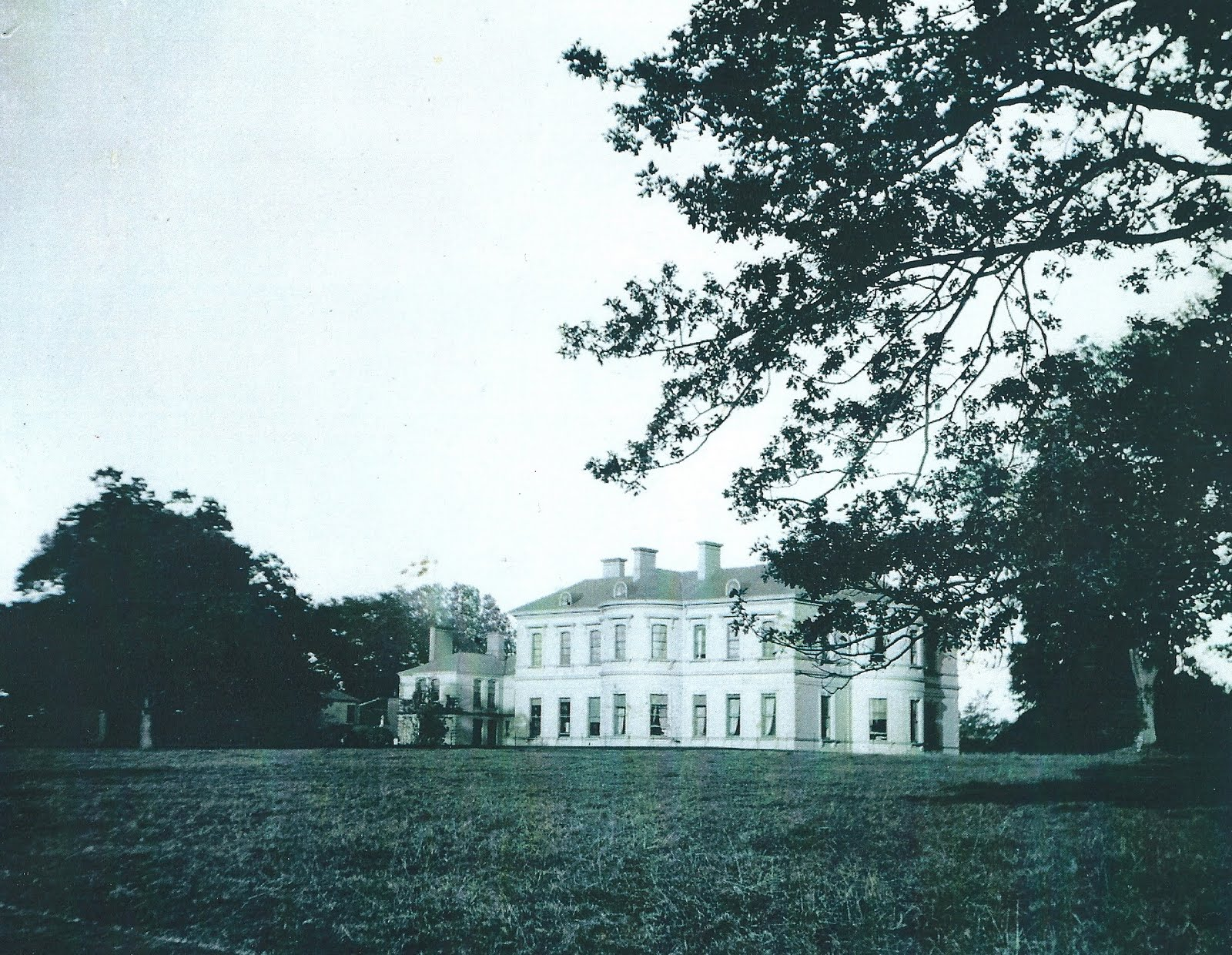 Lord Belmont in Northern Ireland: Orangefield House