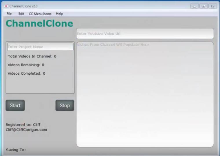 Download Youtube Channel Clone Software Free - Free SEO Tools