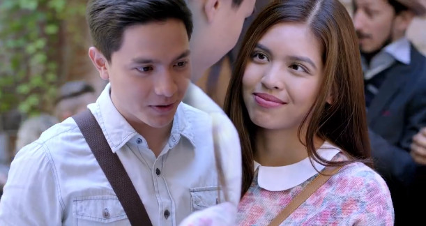Imagine You and Me 2016 Filipino romantic film starring Alden Richards and Maine Mendoza of Eat Bulaga's popular love team AlDub