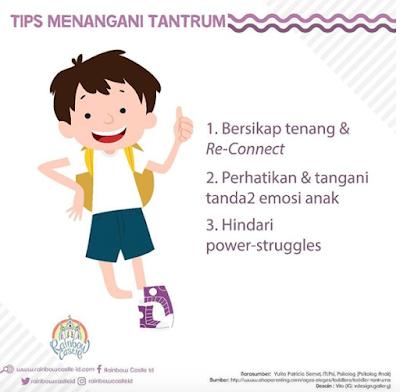 TIPS MENANGANI TANTRUM