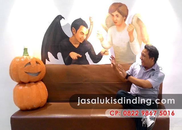 Lukisan 3D di Jakarta