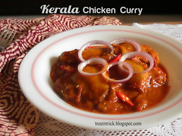 Kerala Chicken Curry Recipe @ treatntrick.blogspot.com