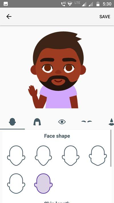 Google Minis Gboard Selfie