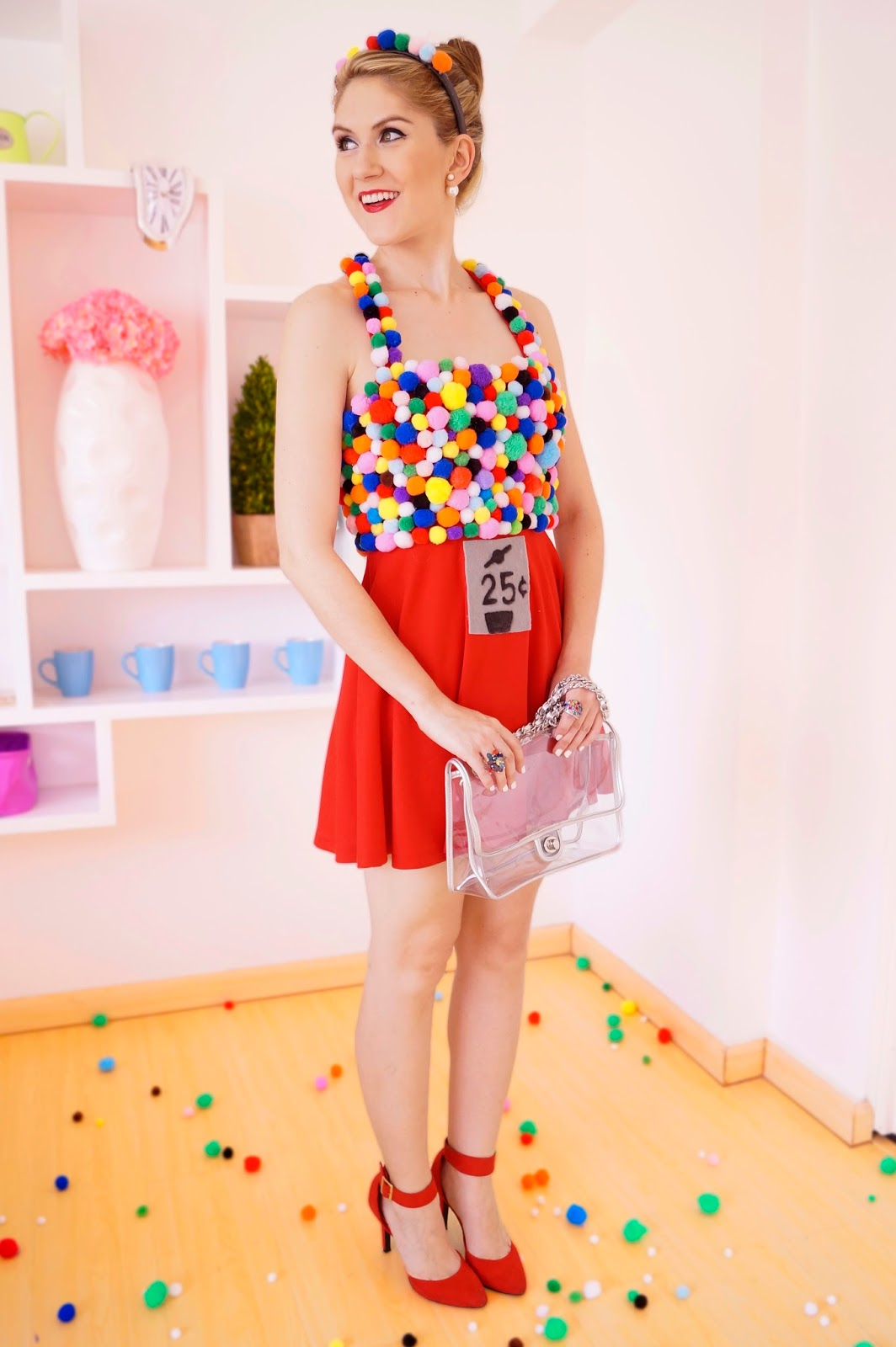 Easy Homemade Gumball Machine Costume Tutorial for Halloween