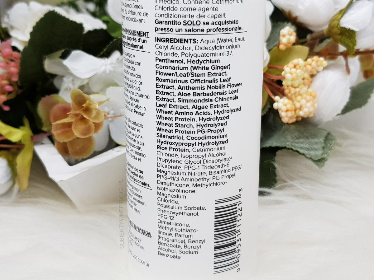 Odżywka Paul Mitchell Extra Body Conditioner - skład