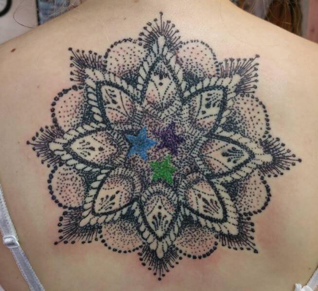 Mandala Tattoo Dotwork