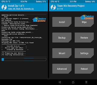 Root dan Instal TWRP Oppo A39