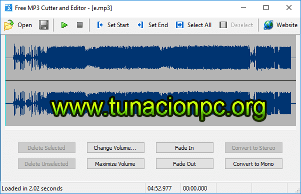 Free MP3 Cutter and Editor Full