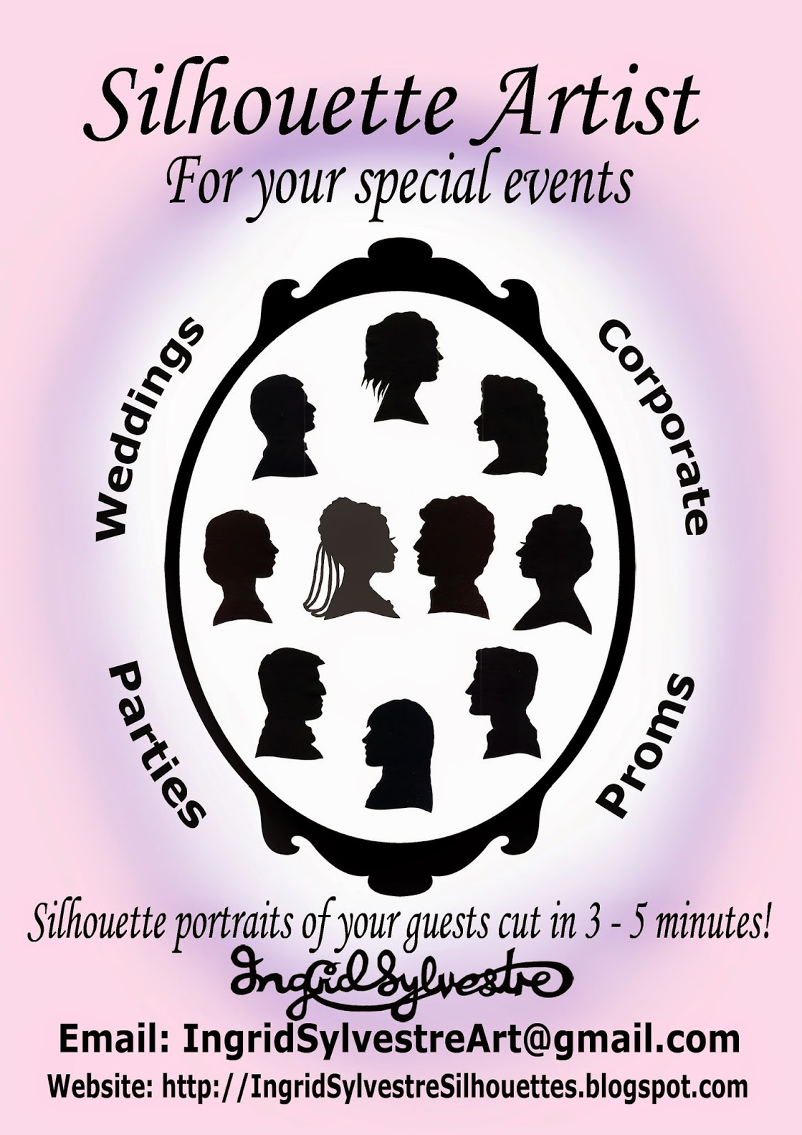 North East Wedding Entertainment ideas Wedding Silhouettes Wedding ideas Wedding planning Gay Wedding ideas Gay Wedding entertainment Gay Wedding Party entertainment ideas Corporate event entertainment ideas Newcastle upon Tyne Durham Sunderland Teesside Northumberland Yorkshire Ingrid Sylvestre silhouette artist UK