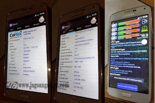 Spesfikasi Samsung Galaxy S5 HDC Replika / Supercopy menggunakan CPU-z dan CPU Identifier