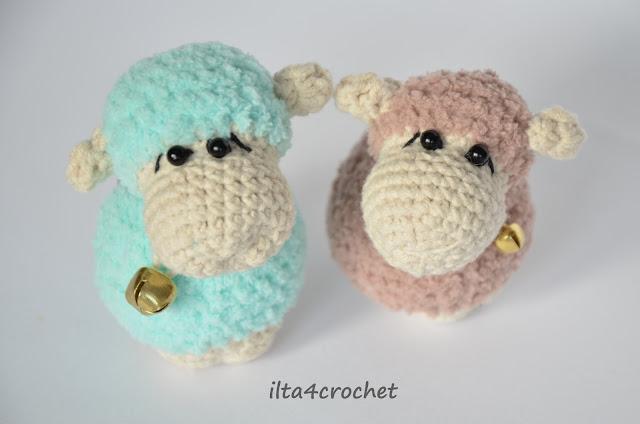 Darmowy tutorial jak zrobić owieczkę  - szydełko