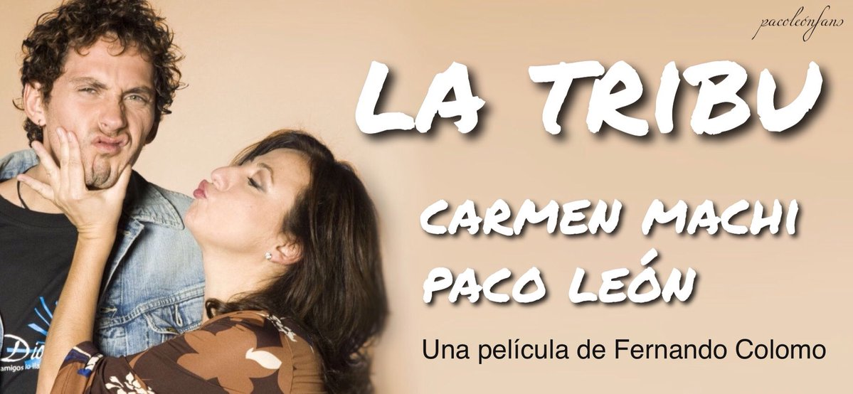 Los Amadores del Cine  PACO LEÓN Y CARMEN MACHI SERÁN LOS ... a77e2c0c7fc