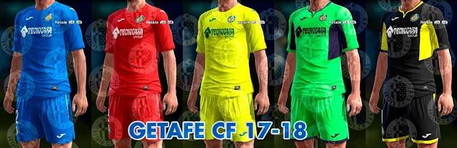 Getafe 2017-18 Kit PES 2013
