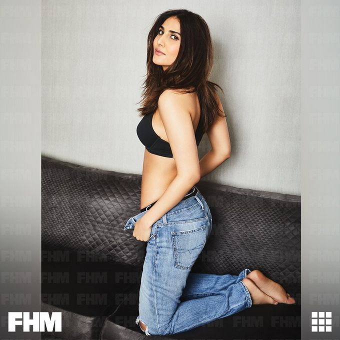 Vaani Kapoor Stunning Poses for FHM Magazine September 2017 Issue