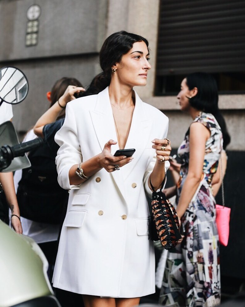 Blazer Dresses are Every It Girl's Solution to What to Wear — Giulia Tordini Street Style