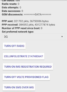 Cara merubah Jaringan 3G ke 4G Menggunakan Aplikasi