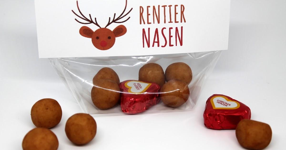 diy rentiernasen mit gratis printable last minute geschenkidee zu weihnachten diycarinchen. Black Bedroom Furniture Sets. Home Design Ideas