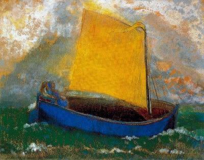 La barca mística (Odilon Redon)