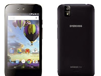 Evercoss One X, Ponsel Android One Bertenaga Quad Core Harga Bersahabat