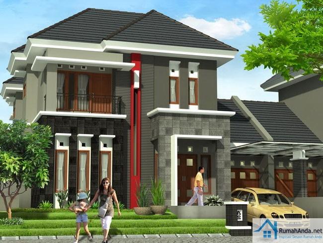 64+ Gambar Rumah Lantai 2 Besar HD Terbaru