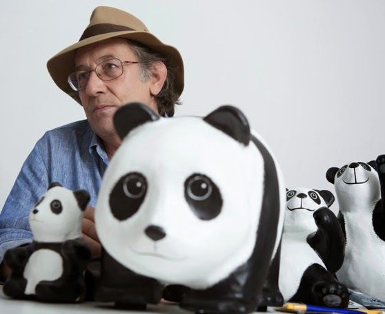 Paulo Grangeon, French sculptor, papier mache pandas, papier mache, 1,600 Pandas World Tour in Malaysia, 1600 Pandas MY, 1600 Pandas, 1600 Pandas World Tour, Pandas in Malaysia, Pandas, Initiating the Culture of Creative Conservation