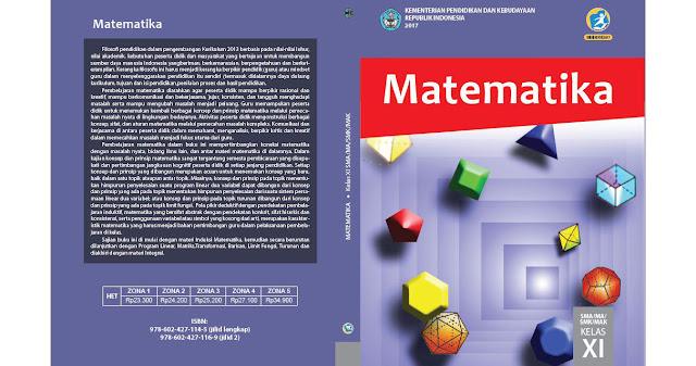 Buku Matematika Kelas 11 Kurikulum 2013 Edisi Revisi 2017