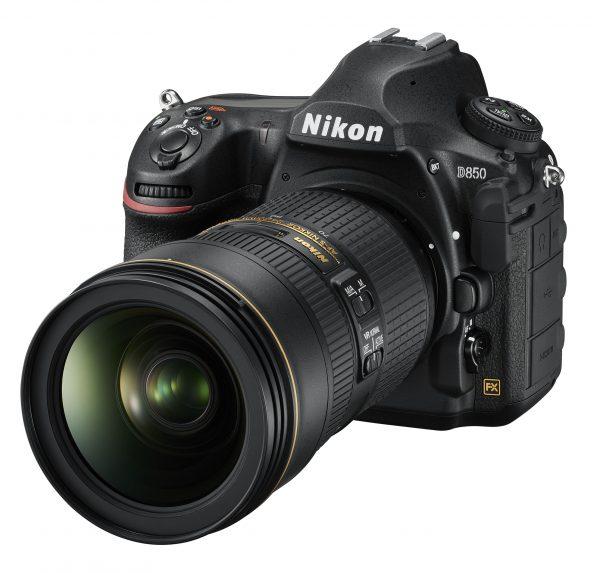 Nikon D850, вид спереди