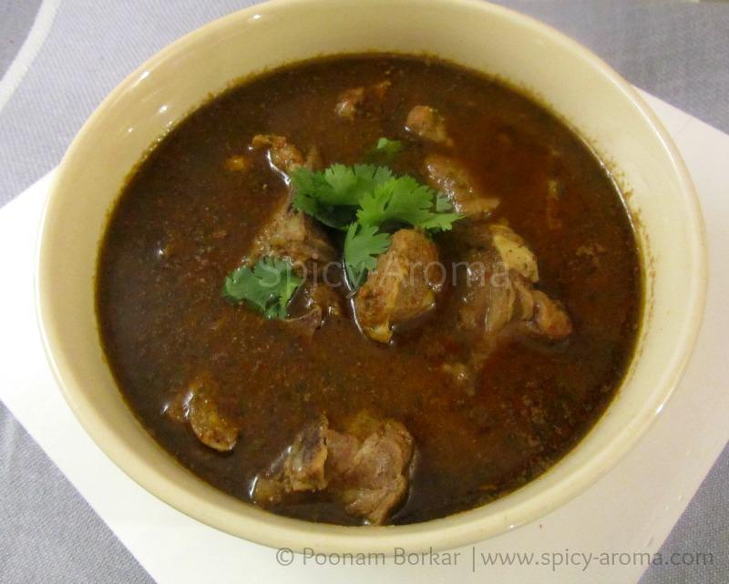 Mutton Rassa (Maharashtrian Lamb Curry) - Recipe with step by step ...