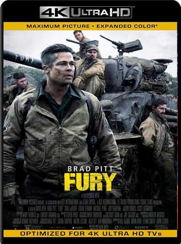 Fury (2014)4K UHD HDR Latino [GoogleDrive]