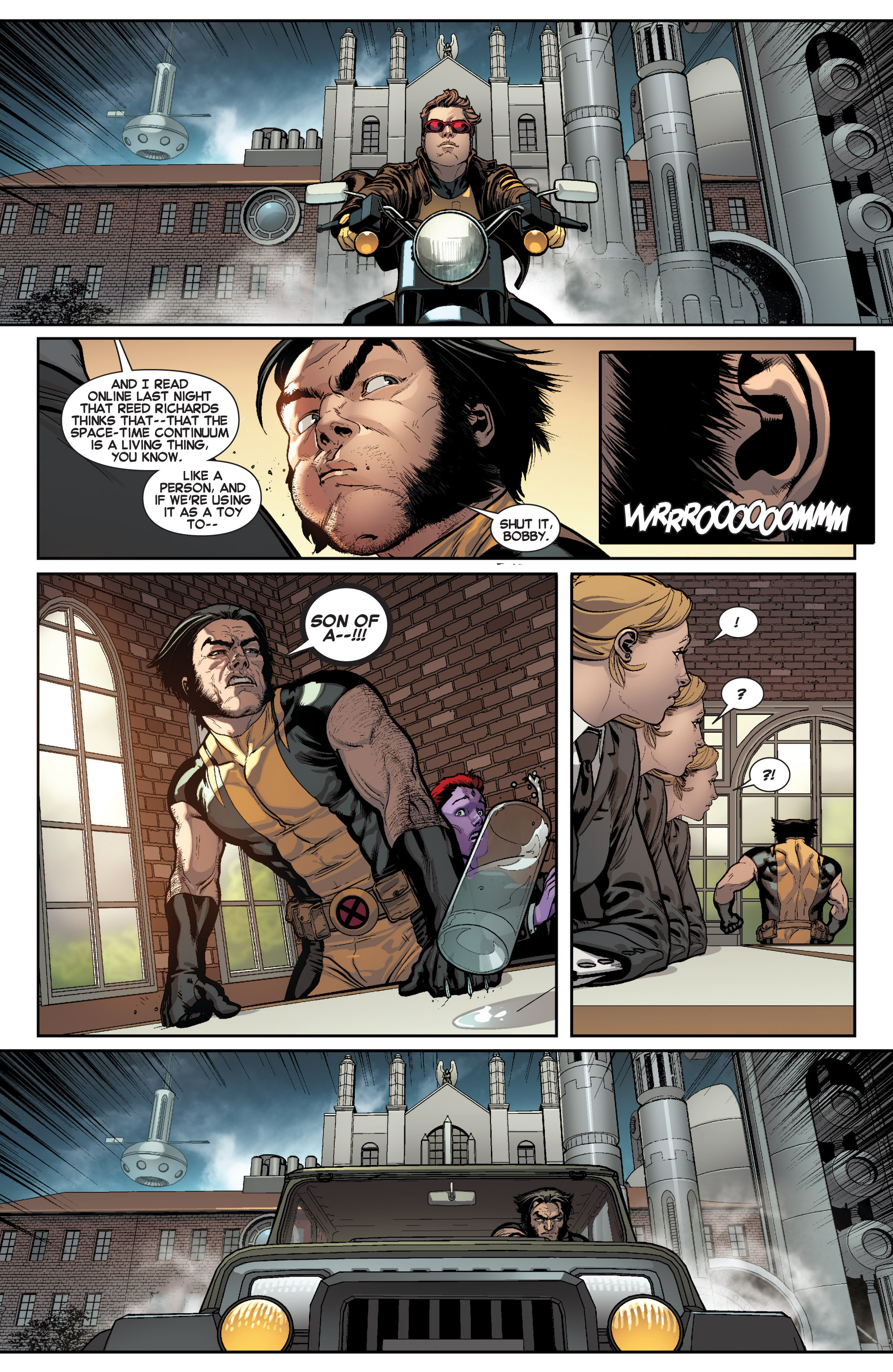Read online All-New X-Men (2013) comic -  Issue # _Special - Here To Stay - 9