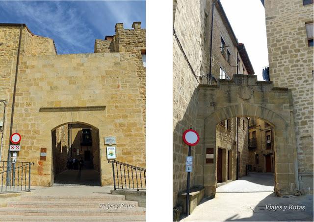 Puertas de la muralla de Laguardia, Álava