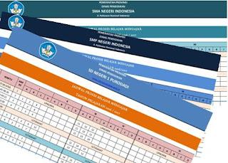Aplikasi Pembuat Jadwal Pelajaran SD, SMP dan SMA dengan mudah