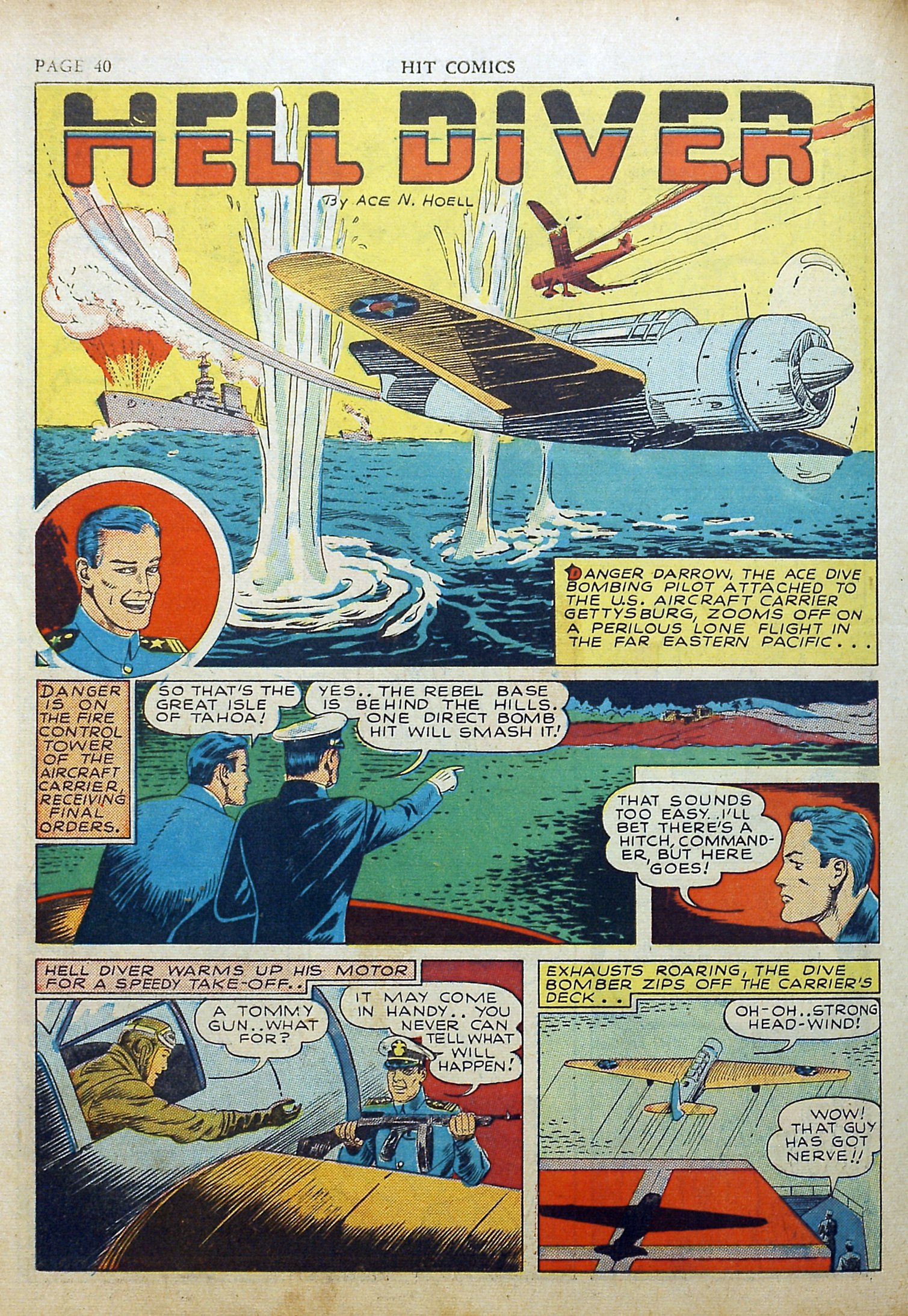 Read online Hit Comics comic -  Issue #17 - 42