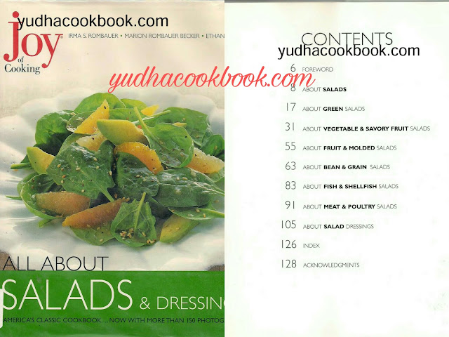 Salads ebook, salads and dressing cookbook, dressing ebook