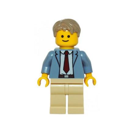 LEGO twn223 - Detektyw Ace Brickman