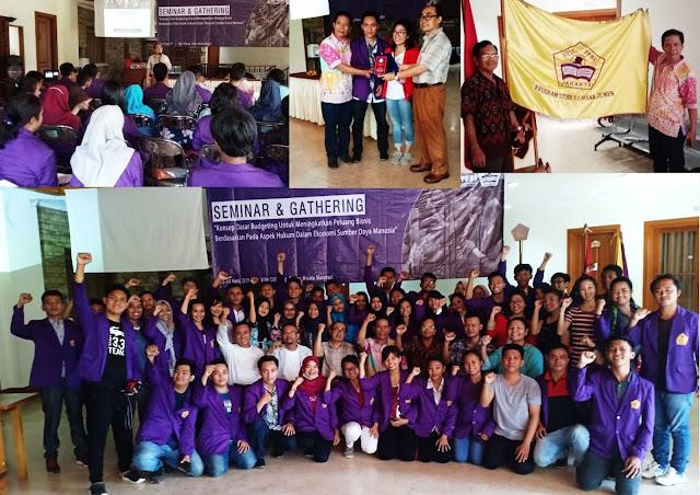 Bambang Suharno Tampil di Seminar & Gathering Kewirausahaan STIE YPBI