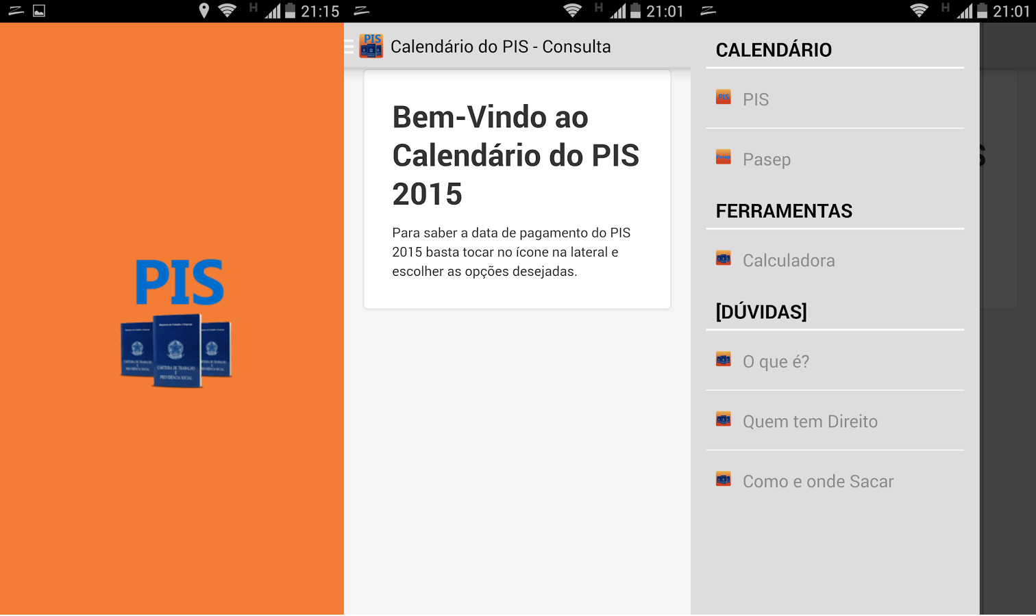 calendario pis 2015 android