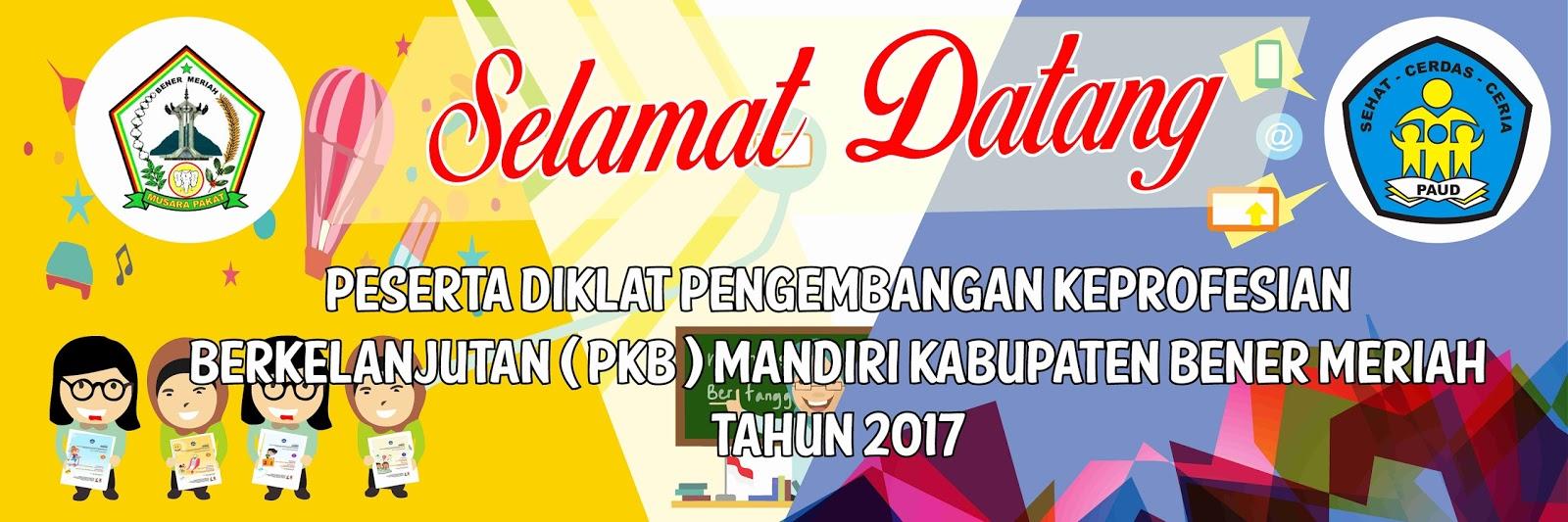 Contoh Desain Banner Seminar Pkb Taman Kanak Kanak Bmcorel