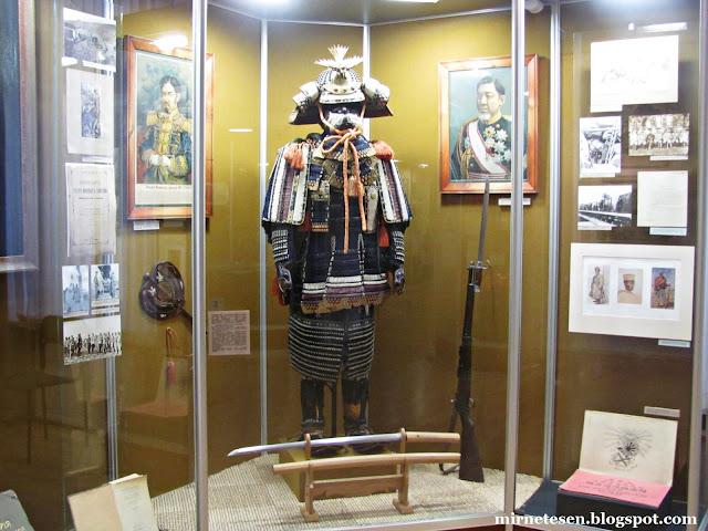 Музей современной истории России: доспехи самурая