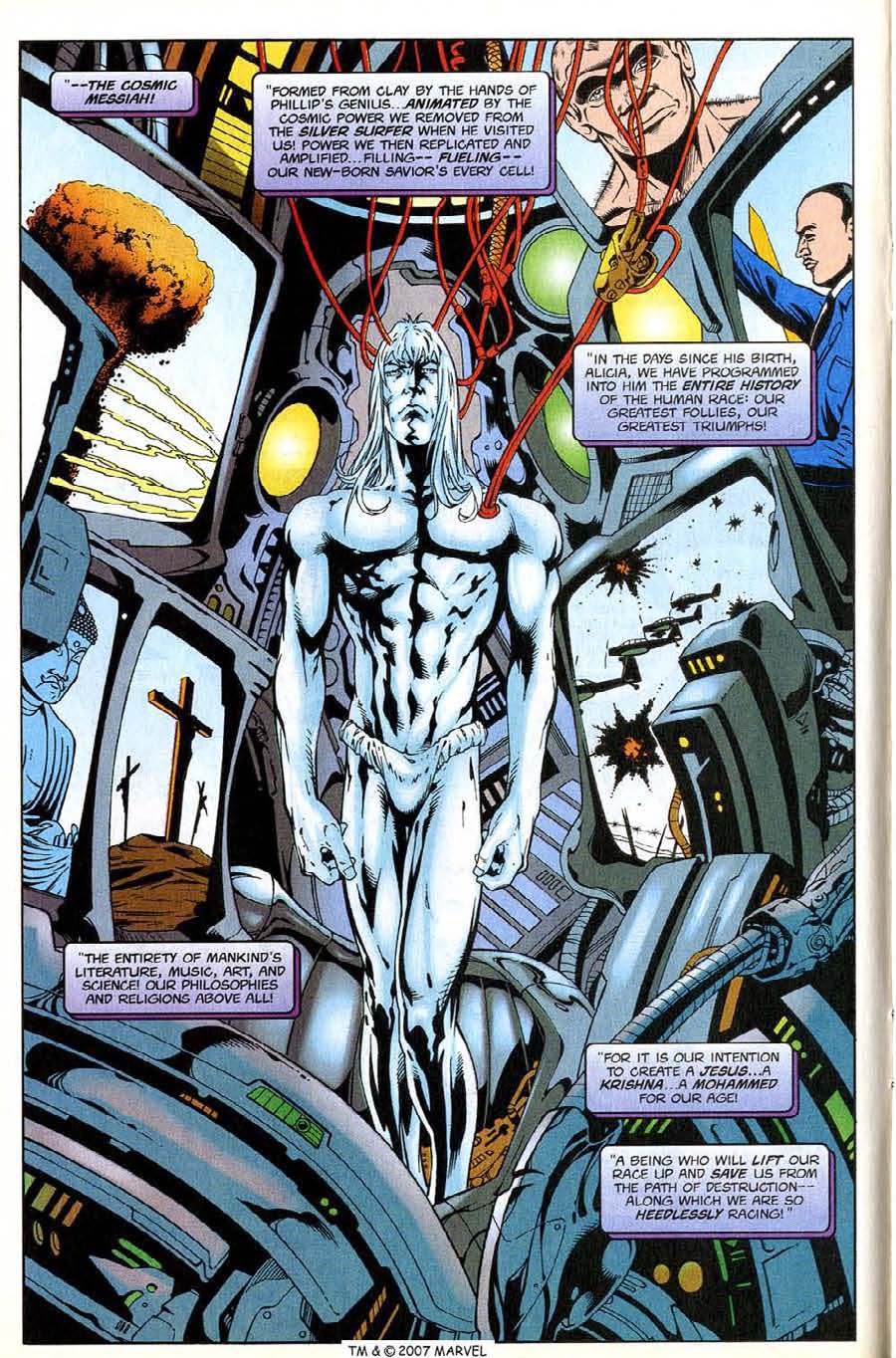 Read online Silver Surfer (1987) comic -  Issue #138 - 12