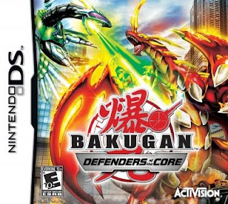 Bakugan Defenders of the Core, NDS, Español, Mega, Mediafire