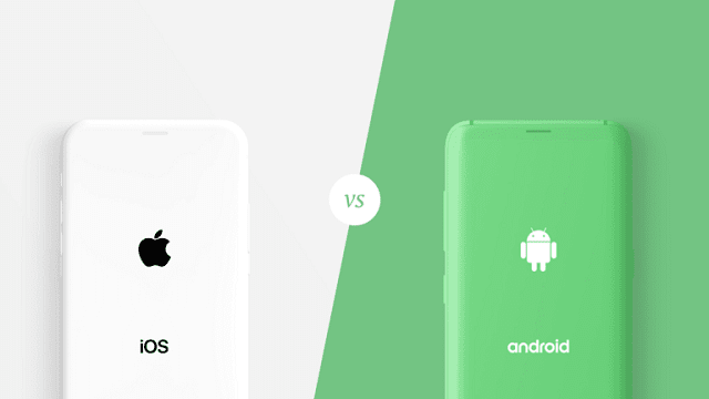 اندرويد ضد iOS