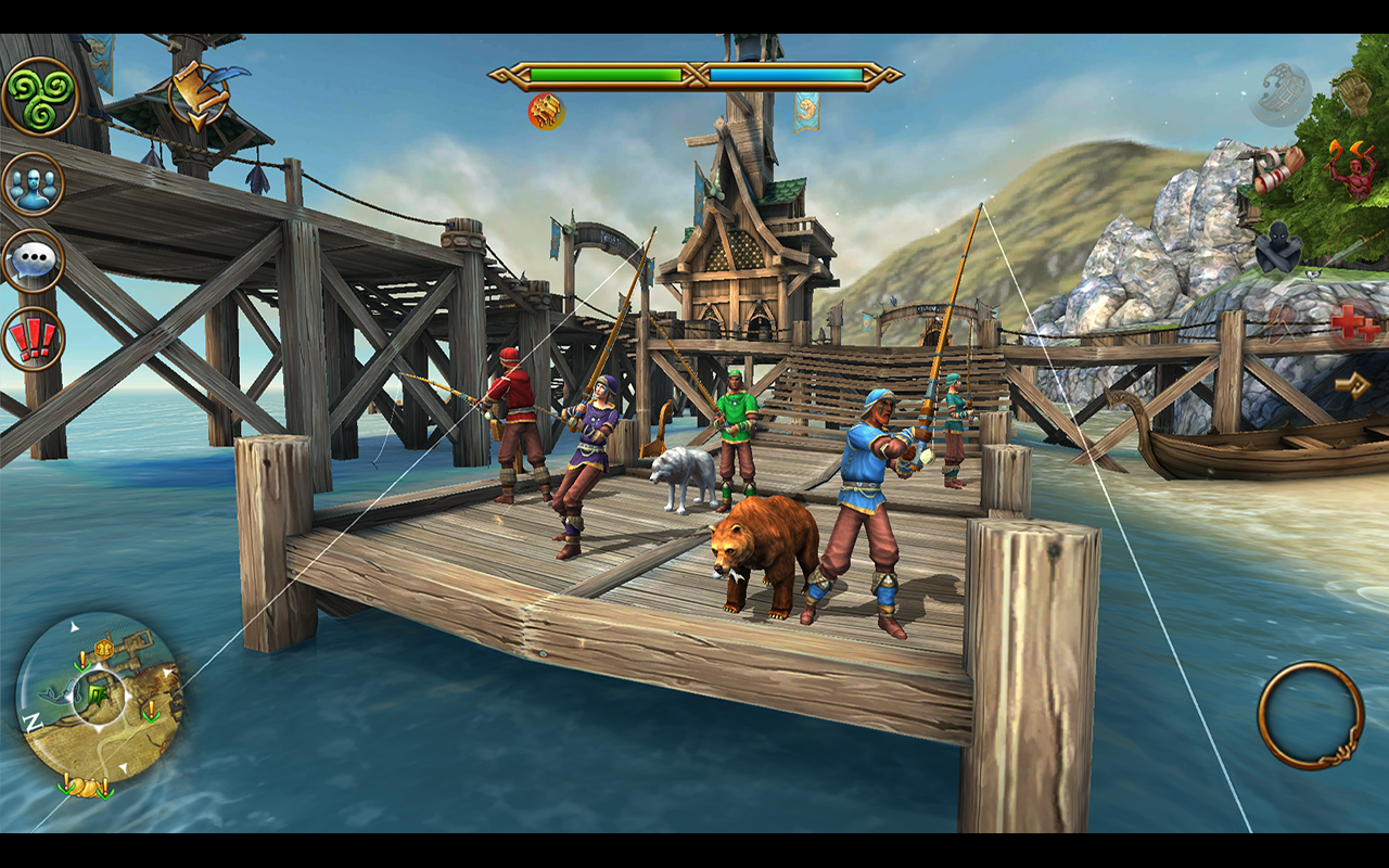 Celtic Heroes 3D MMORPG MOD APK terbaru