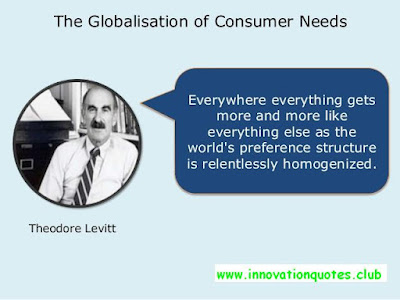 30 Awesome innovation quotes by Theodore  (Ted) Levitt :